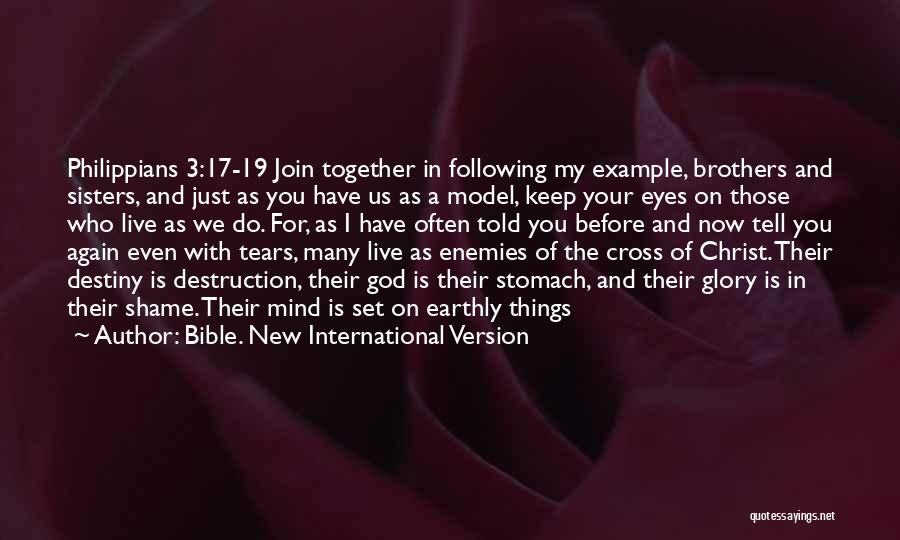 Sisters In Christ Quotes By Bible. New International Version