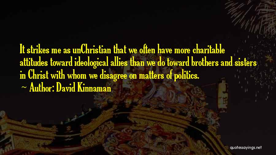 Sisters In Christ Quotes By David Kinnaman
