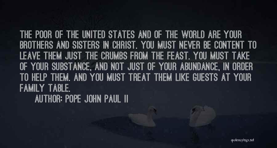 Sisters In Christ Quotes By Pope John Paul II
