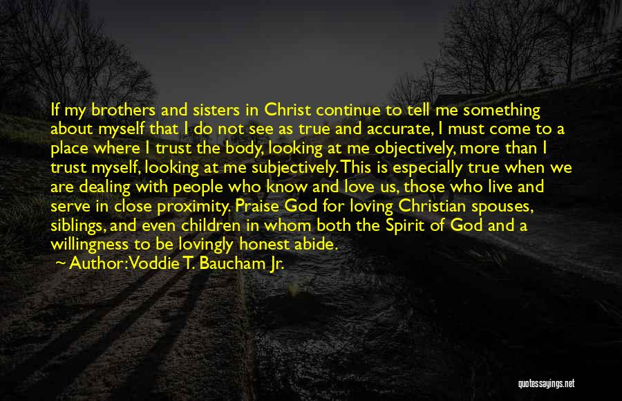 Sisters In Christ Quotes By Voddie T. Baucham Jr.