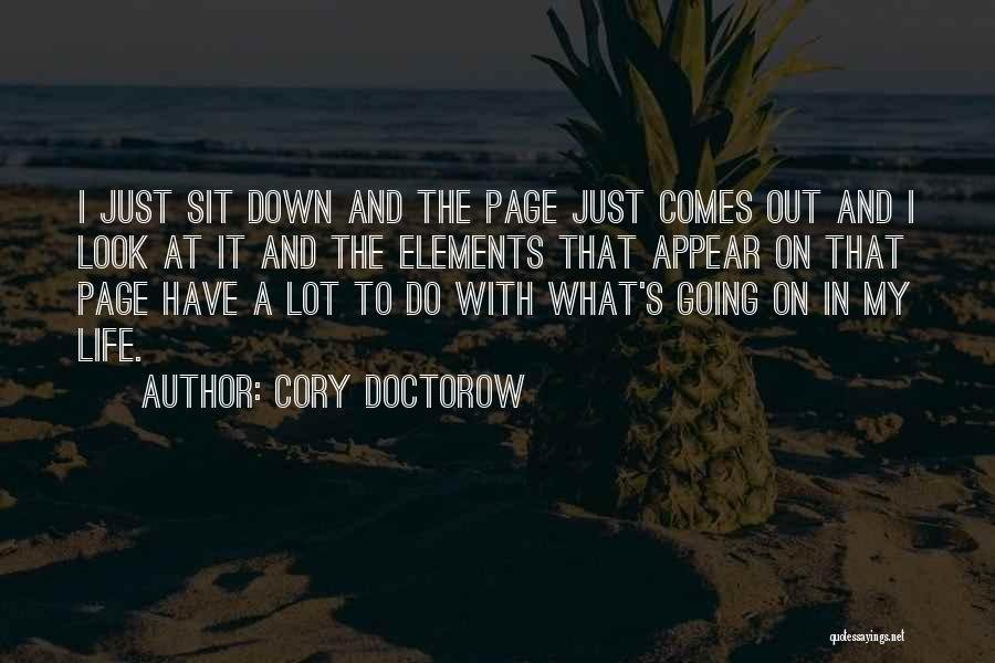 Sit Quotes By Cory Doctorow