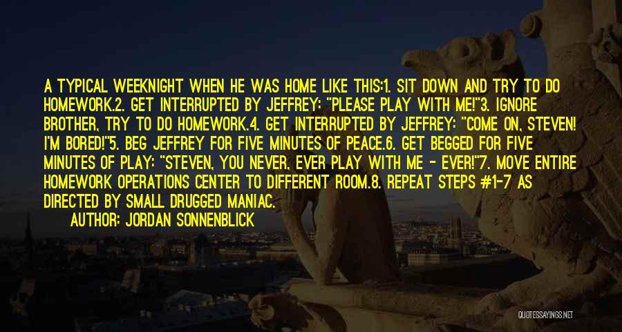 Sit Quotes By Jordan Sonnenblick