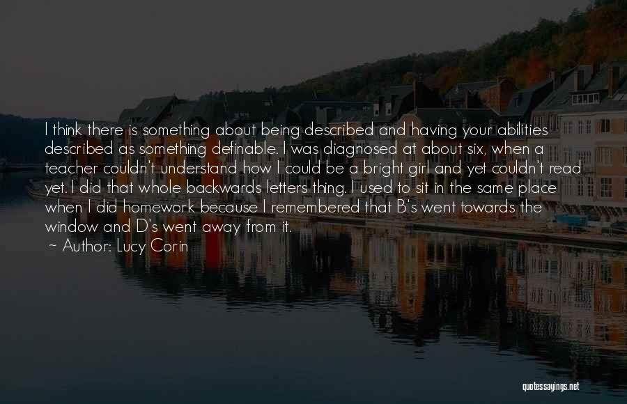 Sit Quotes By Lucy Corin