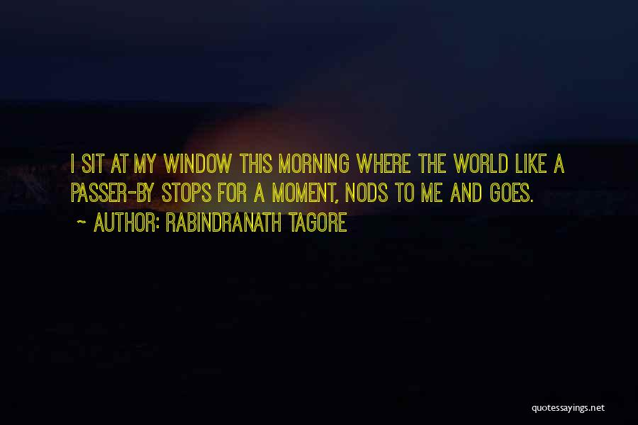 Sit Quotes By Rabindranath Tagore