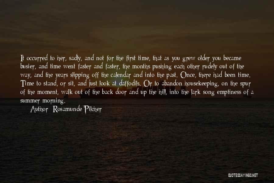 Sit Quotes By Rosamunde Pilcher