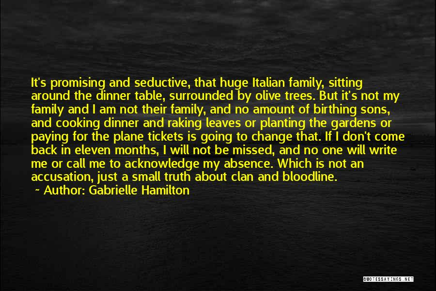 Sitting Around A Table Quotes By Gabrielle Hamilton