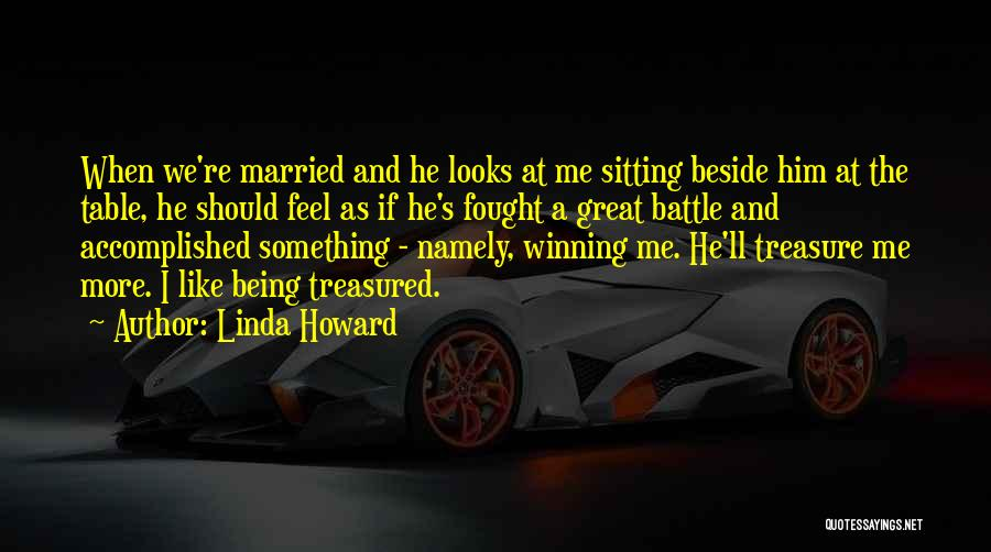 Sitting Beside Me Quotes By Linda Howard