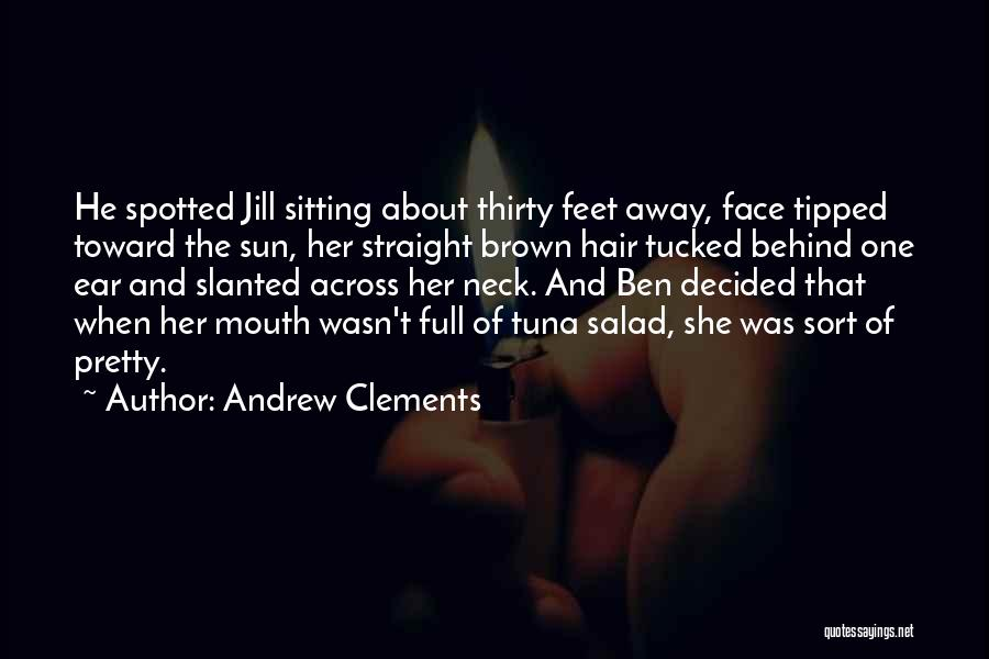 Sitting Pretty Quotes By Andrew Clements
