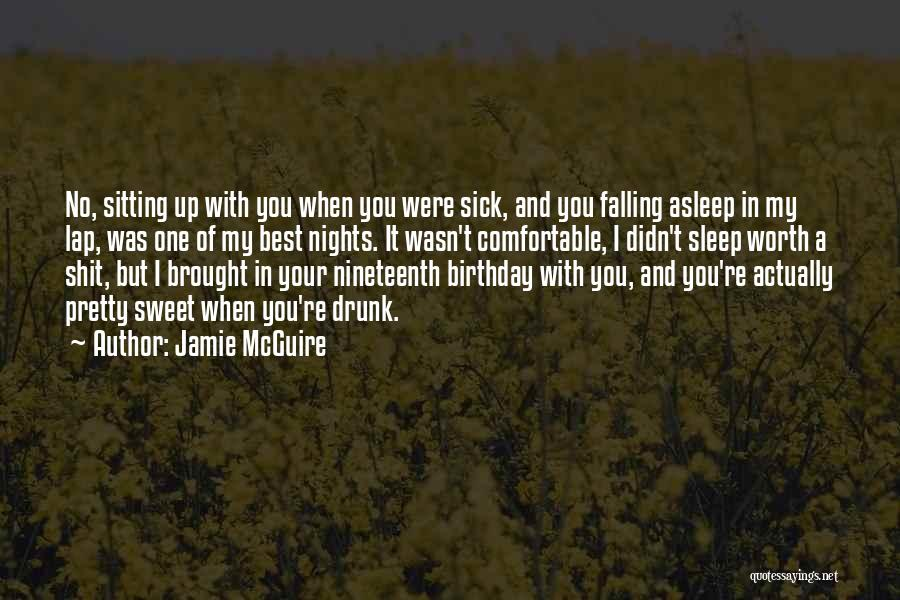 Sitting Pretty Quotes By Jamie McGuire