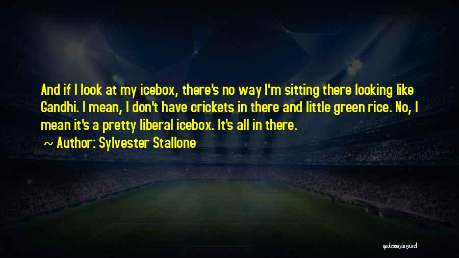 Sitting Pretty Quotes By Sylvester Stallone