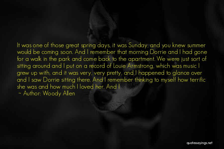 Sitting Pretty Quotes By Woody Allen
