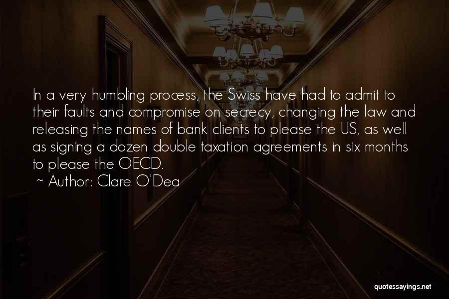 Six O'clock Quotes By Clare O'Dea