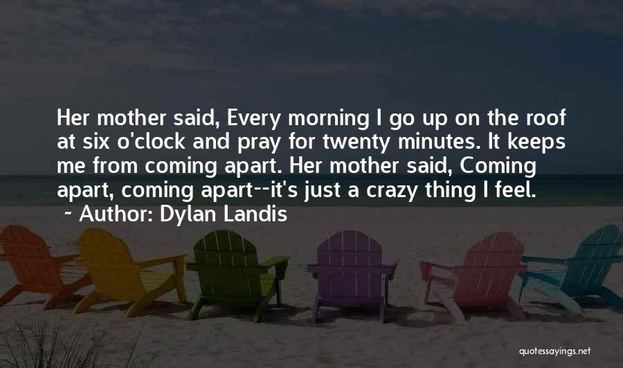 Six O'clock Quotes By Dylan Landis