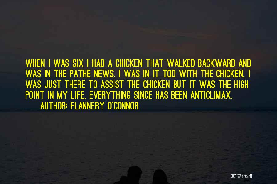 Six O'clock Quotes By Flannery O'Connor