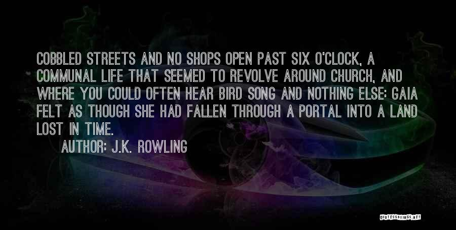 Six O'clock Quotes By J.K. Rowling