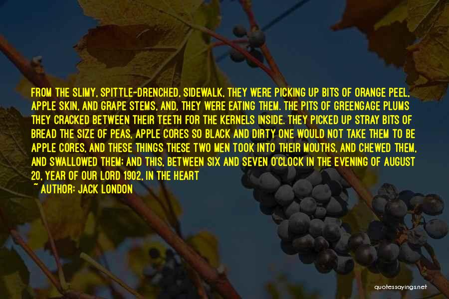Six O'clock Quotes By Jack London