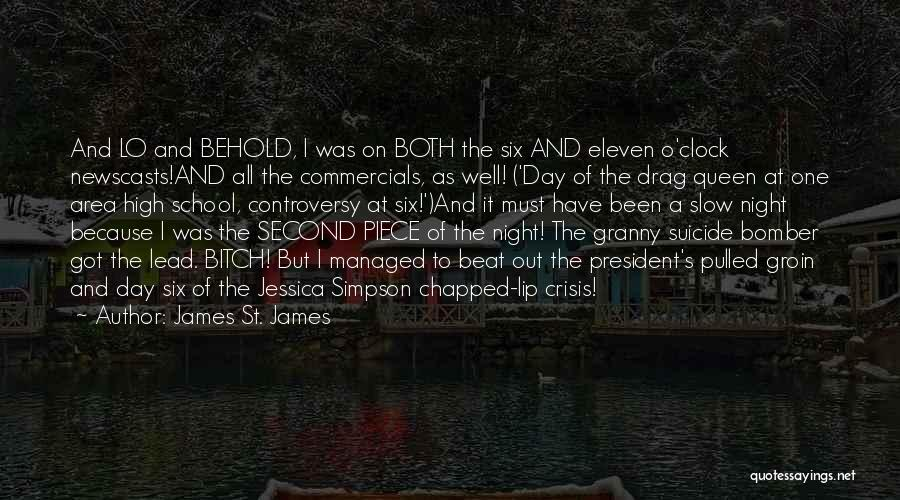 Six O'clock Quotes By James St. James