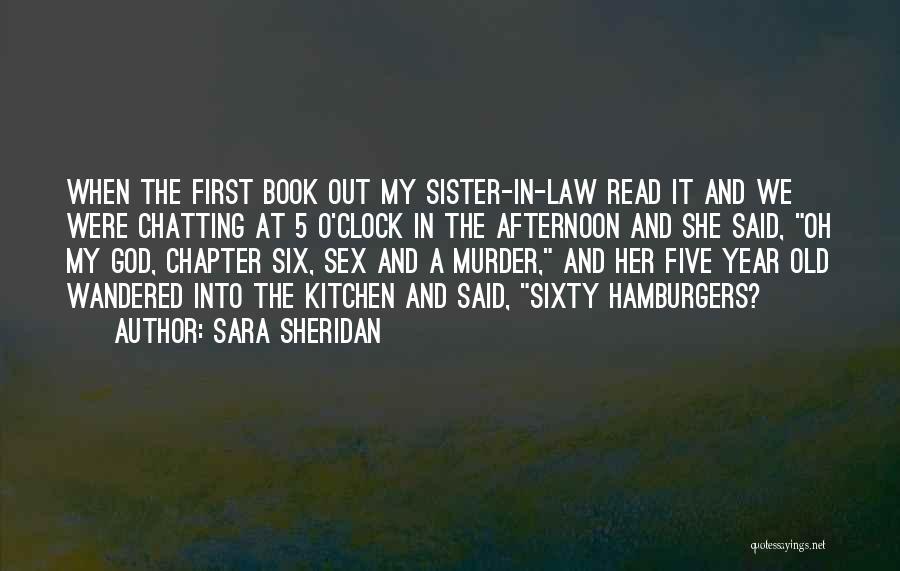 Six O'clock Quotes By Sara Sheridan