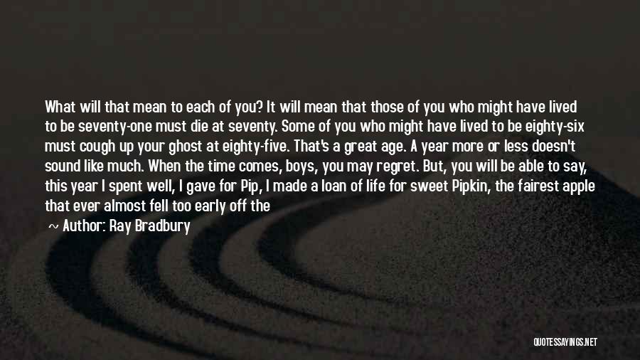 Sixty Nine Quotes By Ray Bradbury
