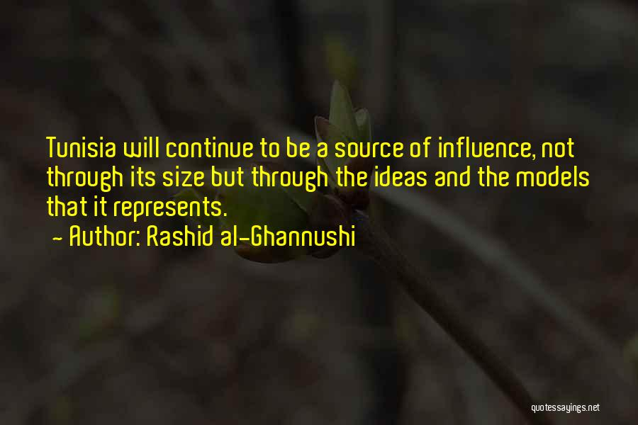 Size 0 Models Quotes By Rashid Al-Ghannushi