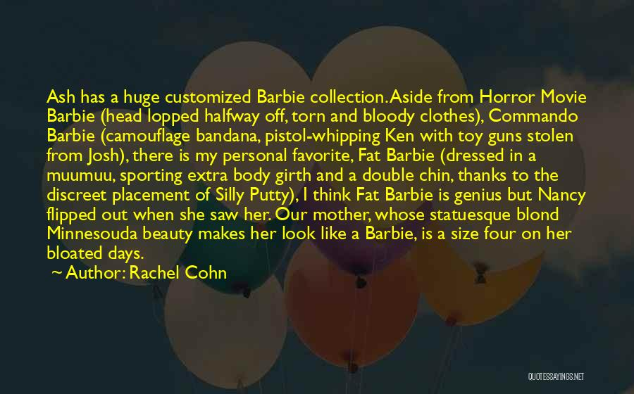 Size And Beauty Quotes By Rachel Cohn