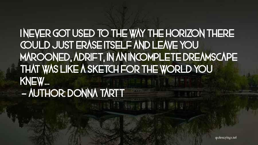 Sketch Quotes By Donna Tartt