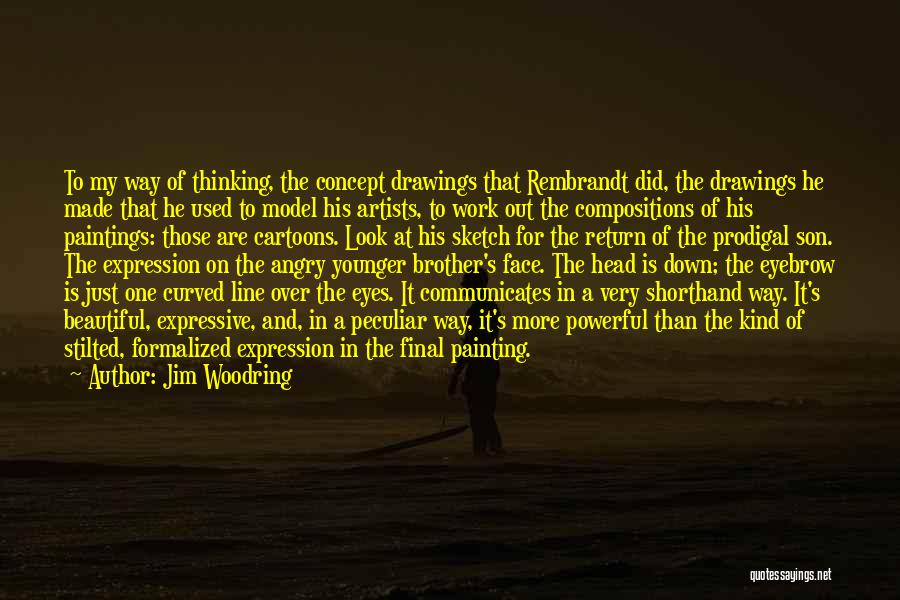 Sketch Quotes By Jim Woodring