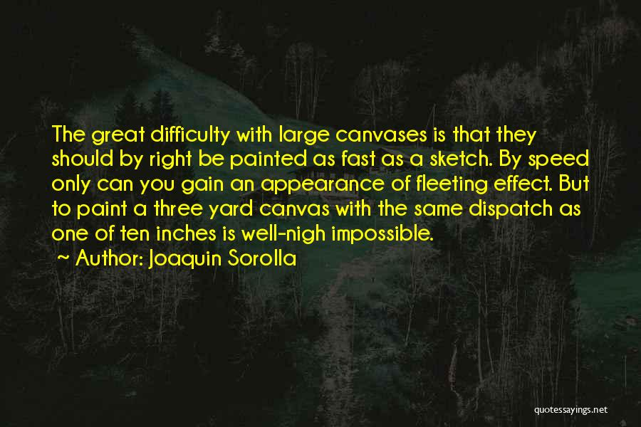 Sketch Quotes By Joaquin Sorolla