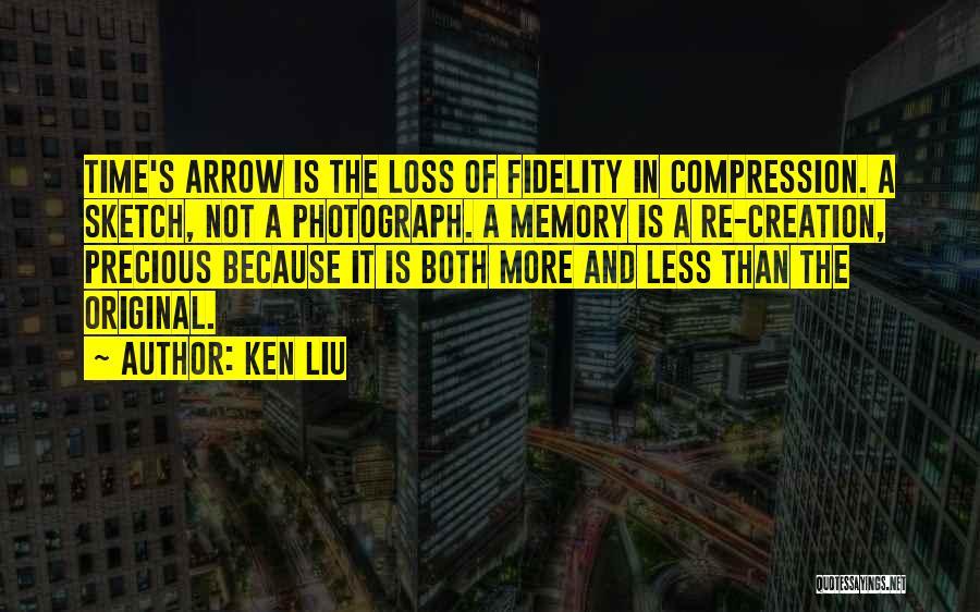 Sketch Quotes By Ken Liu