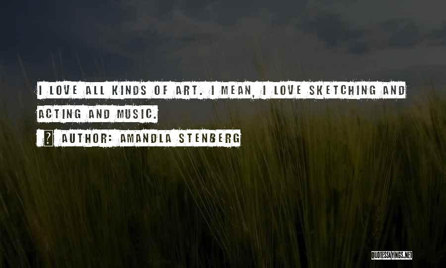 Sketching Quotes By Amandla Stenberg