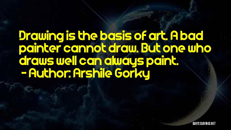 Sketching Quotes By Arshile Gorky