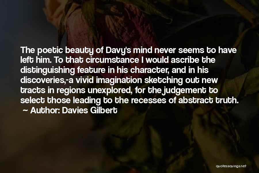 Sketching Quotes By Davies Gilbert