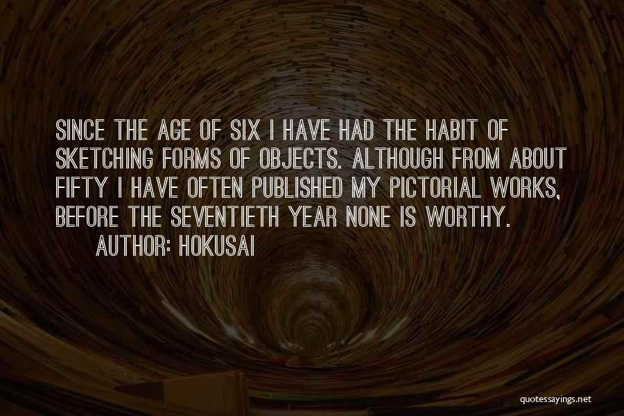 Sketching Quotes By Hokusai