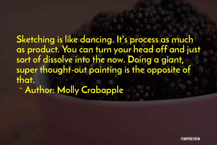 Sketching Quotes By Molly Crabapple