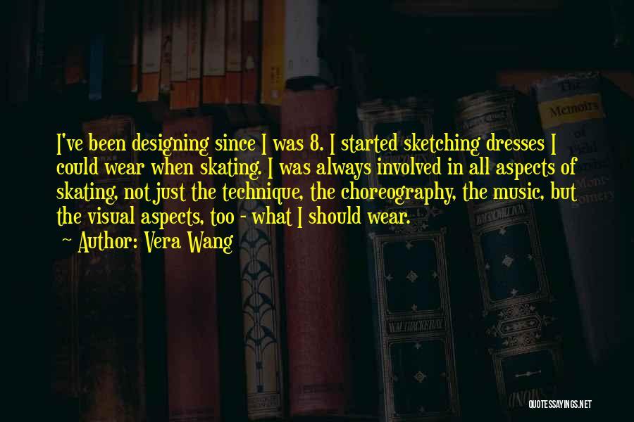 Sketching Quotes By Vera Wang