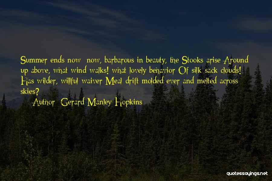 Skies Quotes By Gerard Manley Hopkins