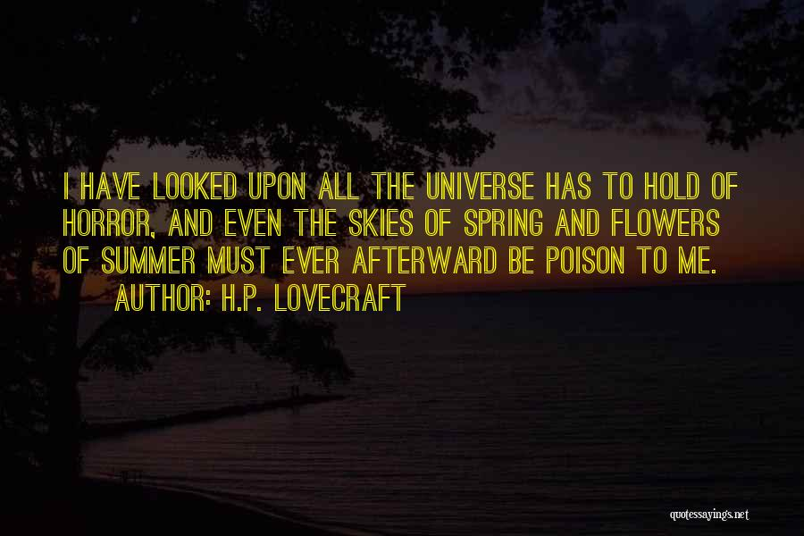 Skies Quotes By H.P. Lovecraft