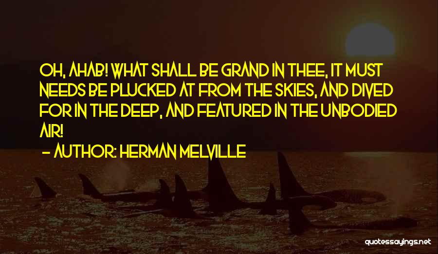 Skies Quotes By Herman Melville