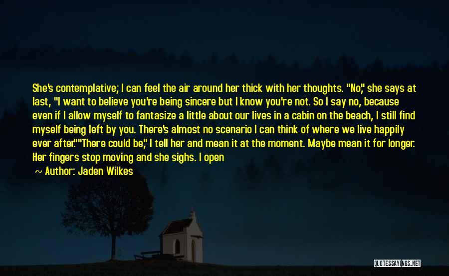 Skies Quotes By Jaden Wilkes