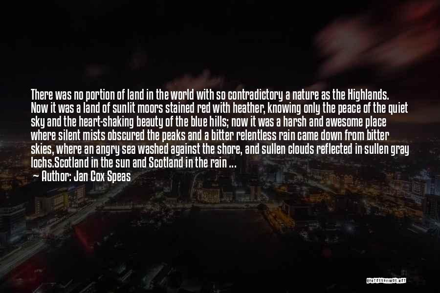 Skies Quotes By Jan Cox Speas