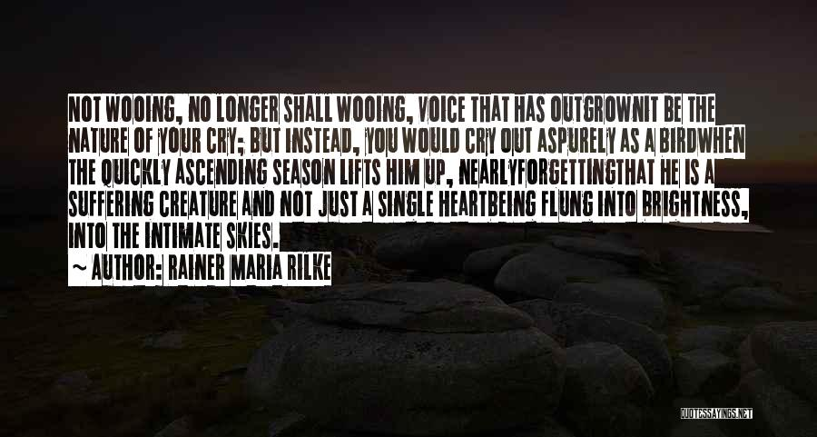 Skies Quotes By Rainer Maria Rilke