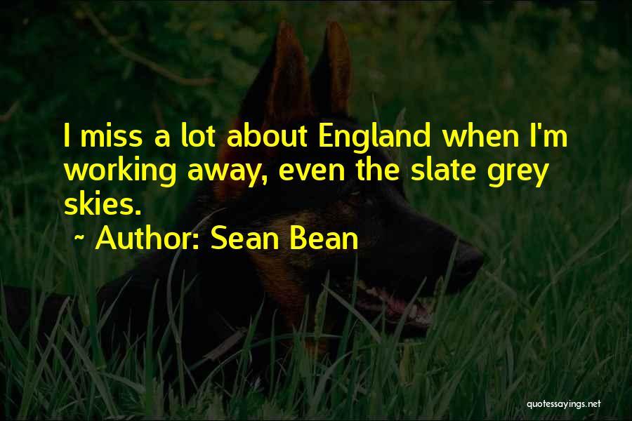 Skies Quotes By Sean Bean