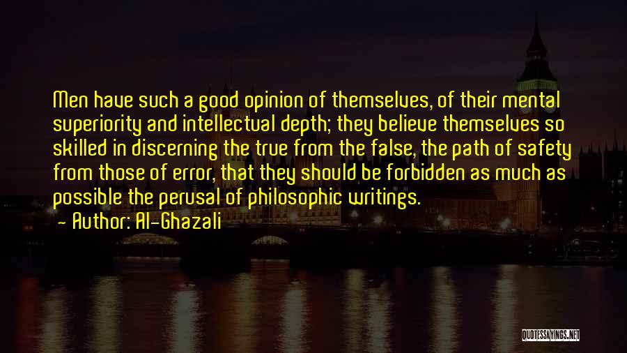 Skilled Quotes By Al-Ghazali