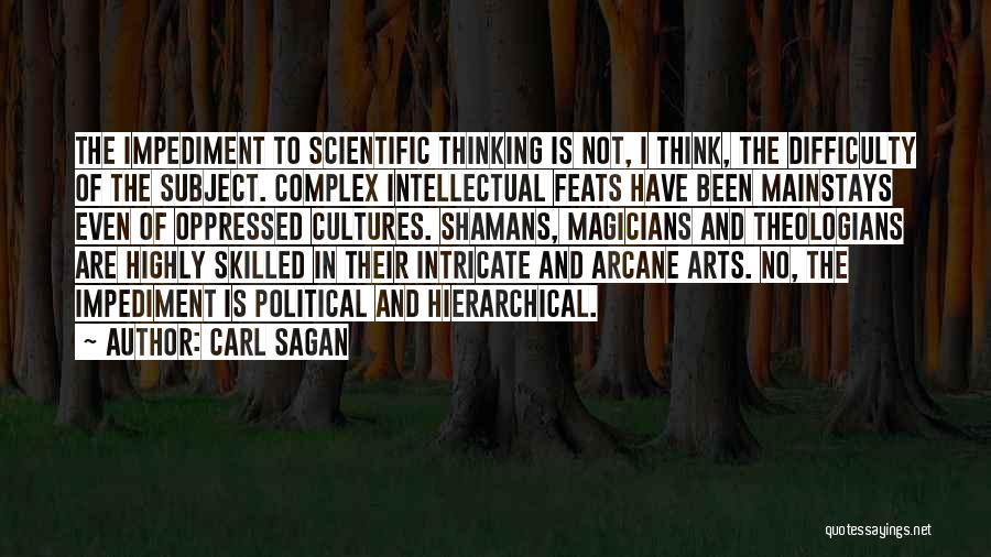 Skilled Quotes By Carl Sagan