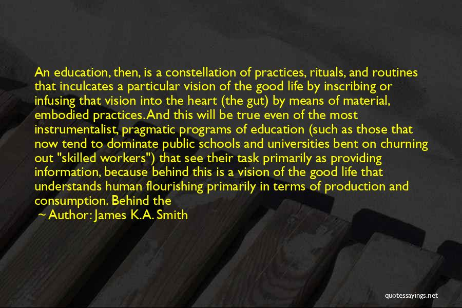 Skilled Quotes By James K.A. Smith