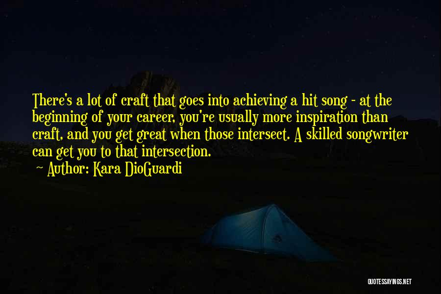 Skilled Quotes By Kara DioGuardi
