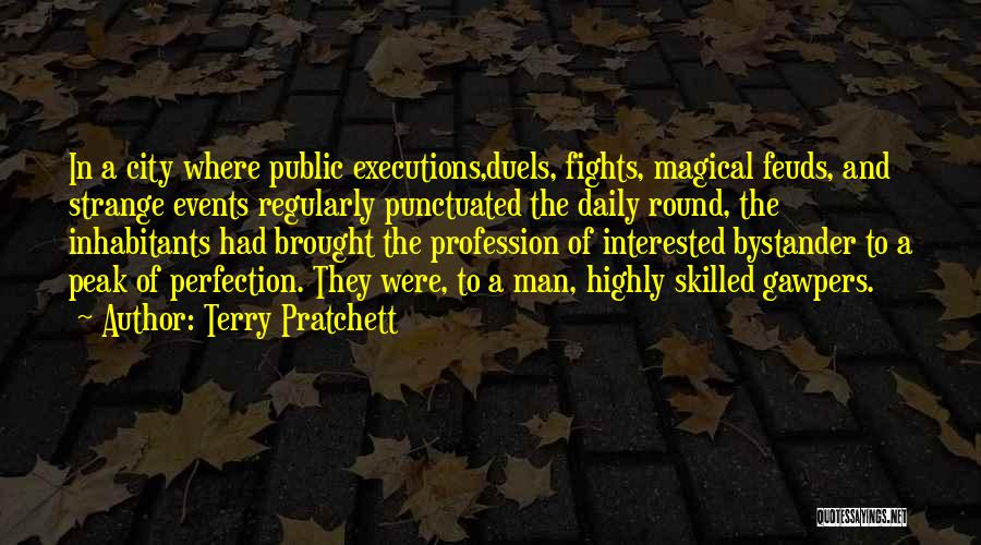 Skilled Quotes By Terry Pratchett