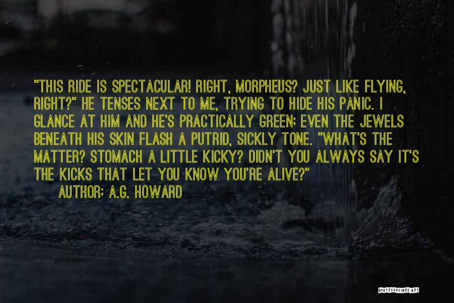Skin Tone Quotes By A.G. Howard