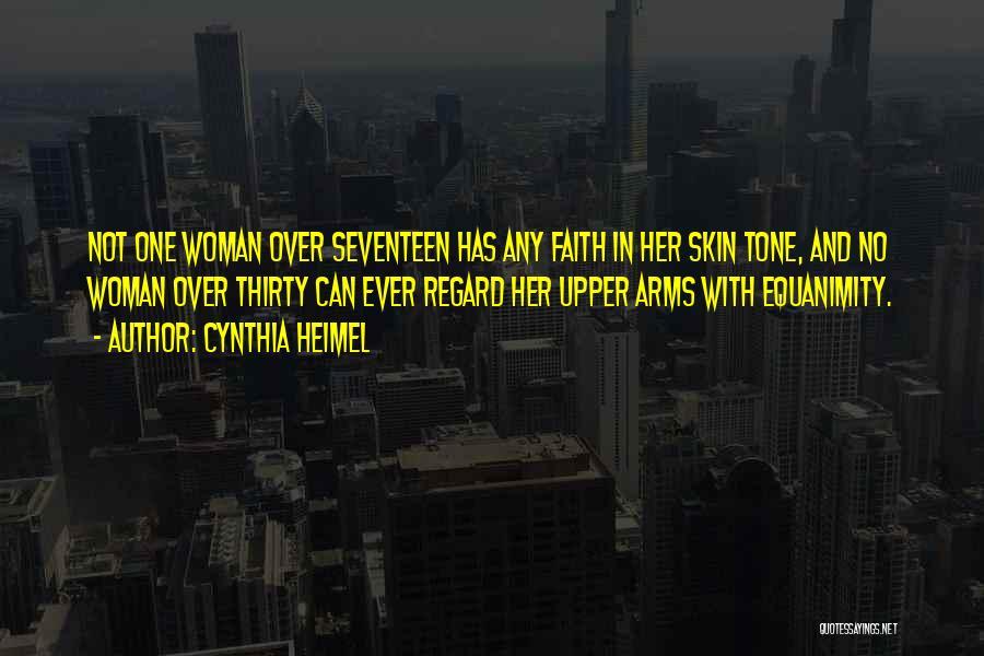 Skin Tone Quotes By Cynthia Heimel