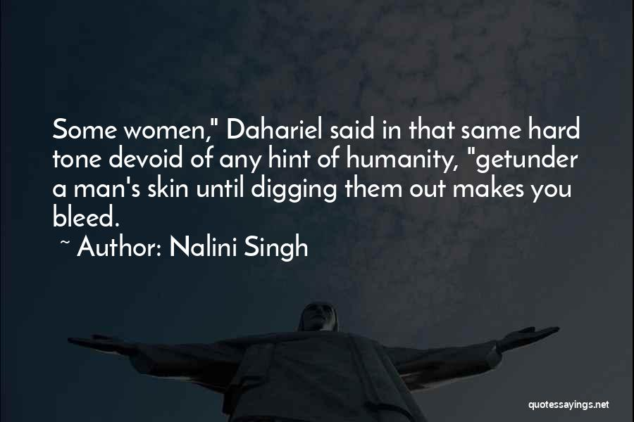 Skin Tone Quotes By Nalini Singh